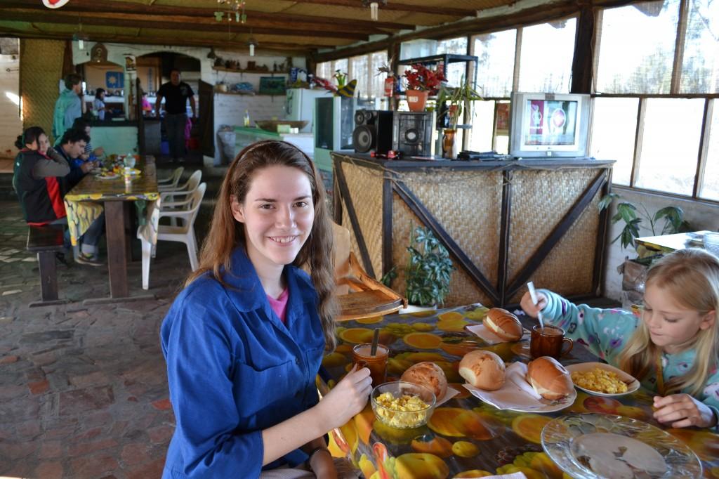 Kittie's Breakfast in Quito
