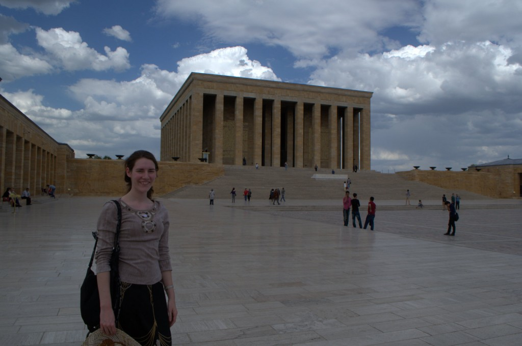 The Mausoleum of Ataturk ('Father of the Turks,' founder of the Turkish Republic) reminded me of Lincoln's Memorial. To the Turks, Ataturk is Lincoln plus Washington with a dash of Jefferson.