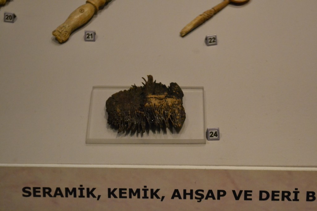 Civilization Museum: A wooden comb! Just what I'd like to use on my hair