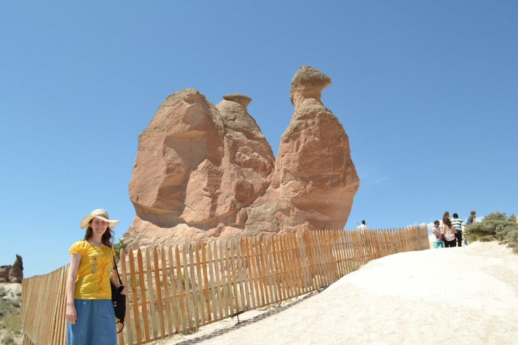 We detoured for many unusual rock formations in the region of Cappidocia