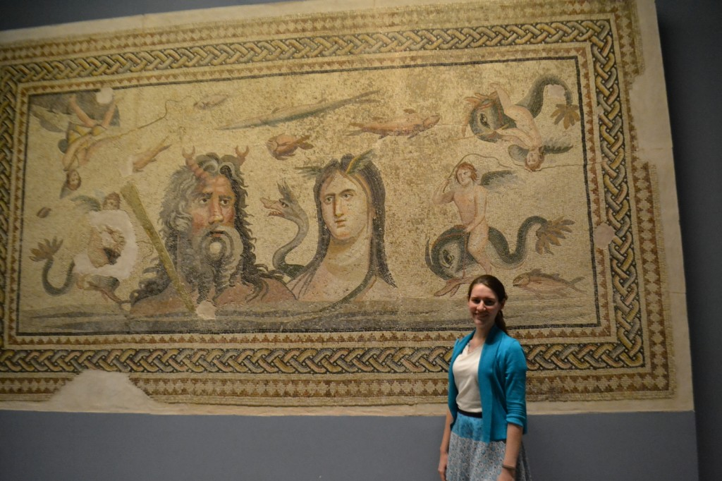 Antakya: In lieu of a visit to Antioch, we gaped at Roman mosaics in a world-renowned museum. Ready to install this piece in your bathtub?