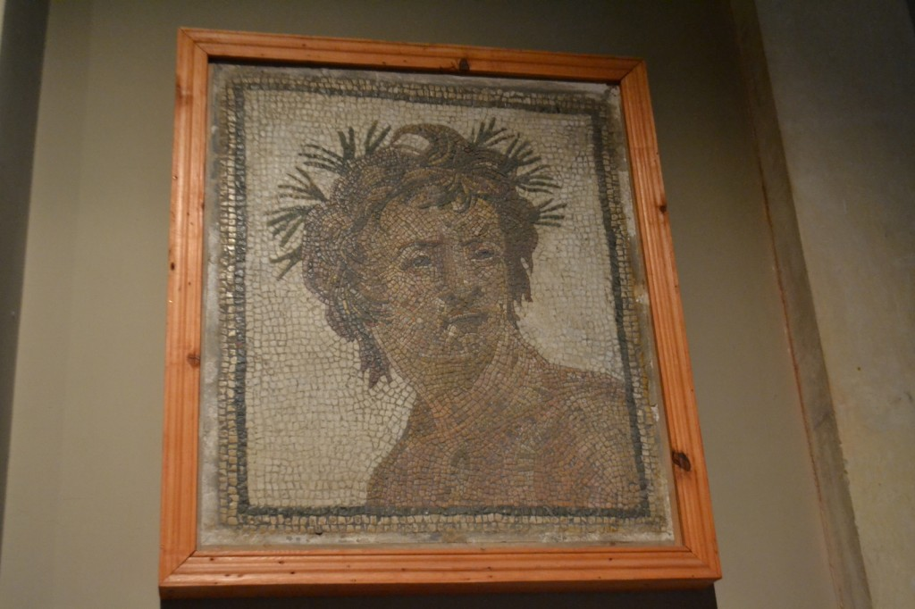 My favorite mosaic portrait.  Check out the eyebrows.